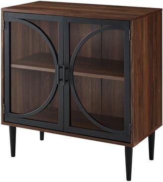Hewson Modern Wood Entryway Accent Storage Cabinet