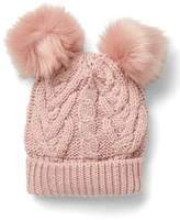 Gap Pom-pom cable knit beanie