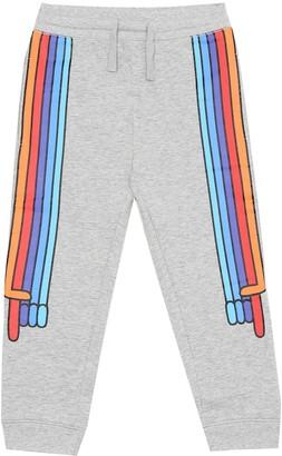 Stella McCartney Kids Printed cotton trackpants