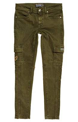 Superdry womens DAISEY SKINNY CARGO Cargo Trousers,6 (Manufacturer Size: 34)