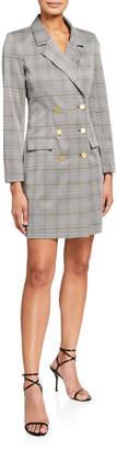 Nanette Lepore Nanette Double-Breasted Coat Dress