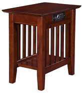 Atlantic Mission Chair Side Table with Charger Furniture