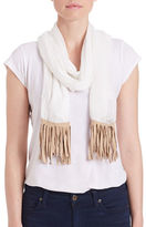 Collection 18 Knit Fringe Scarf