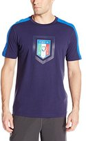 Puma Men's Figc Italia Fanwear Badge Tee