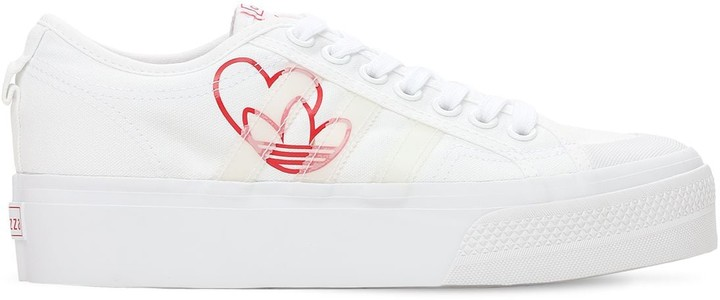 Thumbnail for your product : adidas Valentines Nizza Platform Sneakers