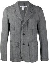 Comme Des Garçons Shirt checked blazer