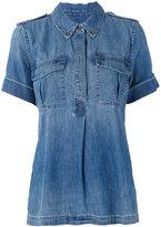 Equipment denim pullover shirt - women - Cotton - M