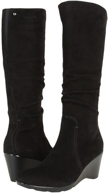 Blondo Lizenn (Black Casual Suede) - Footwear
