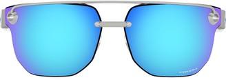 Oakley Chrystl mirrored sunglasses