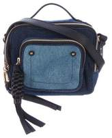 See by Chloe Patchwork Denim Crossbody Bag