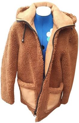 Topshop Tophop Brown Coat for Women