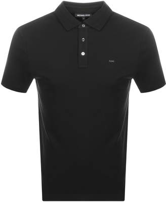 Michael Kors Sleek Polo T Shirt Black