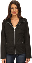 Sam Edelman Cotton Bomber w/ Diamond Quilt Detail