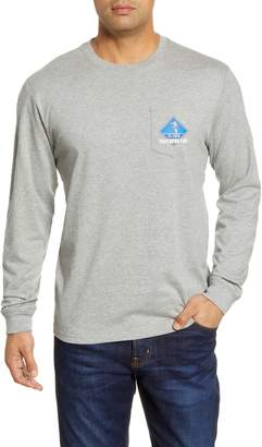 Southern Tide Holiday Crossing Long Sleeve Pocket T-Shirt