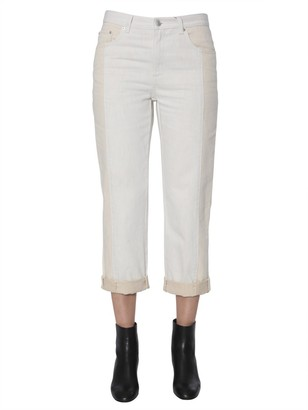 Alexander McQueen Cropped Straight Jeans