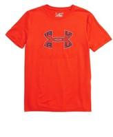 Under Armour Boy's Infusion Logo Heatgear T-Shirt