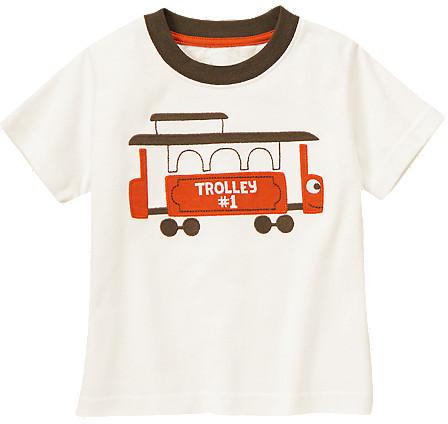 Gymboree Trolley Tee