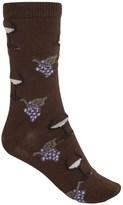B.ella Juliet Wine & Grapes Socks - Merino Wool, Crew (For Women)