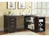 Ralphs Exquisite Reversible L-Shape Executive Desk Ebern Designs Color: Brown