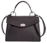 Proenza Schouler Medium Hava Top Handle Leather Satchel - Black