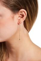 Candela 10K Gold CZ Drop Dangle Earrings