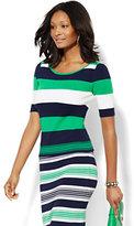 7th Avenue Design Studio - Striped Knit Sweater