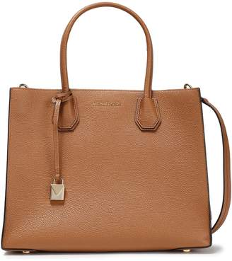 MICHAEL Michael Kors Mercer Large Pebbled-leather Tote
