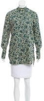 Sonia Rykiel Printed Button Up Blouse w/ Tags