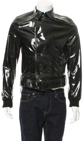 Christian Dior 2008 Double-Breasted Belted Jacket