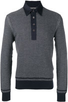 Tom Ford front placket jumper