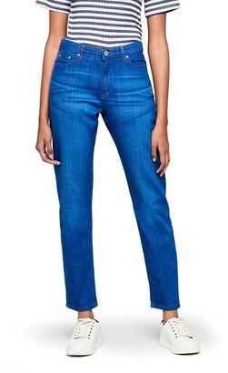 Find. Women's Boyfriend Mid Rise Ripped Jeans