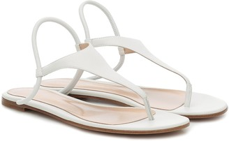 Gianvito Rossi Anya leather sandals