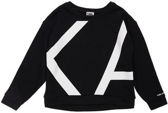 Karl Lagerfeld Paris Logo Print Cotton Sweatshirt