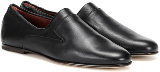 Loro Piana Canebiers leather loafers