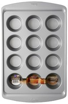Wilton 12 Cup Muffin Pan Gray