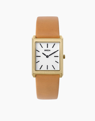 Madewell Breda 18k Gold-Plated Virgil Watch