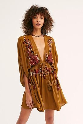 Free People Pretty Pineapple Dress