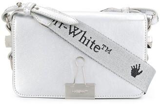 Off-White Binder Clip crossbody bag