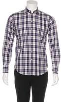 Rag & Bone Plaid Woven Dress Shirt