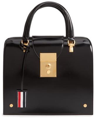 Thom Browne Mrs. Thom Jr. Calfskin Leather Bag