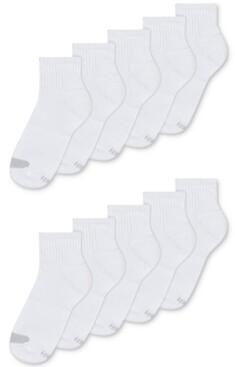 Hanes Women's Platinum 10pk Ankle Socks