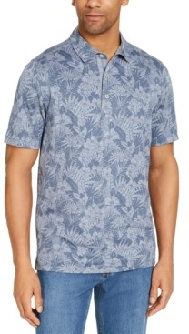 Tommy Bahama Men's Palmetto Palms Classic-Fit Floral-Print Pique Polo Shirt