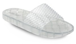 OLIVIA MILLER Clearwater Jelly Pool Slide Sandals Women's Shoes