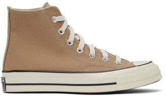 Converse Tan Chuck 70 High Sneakers