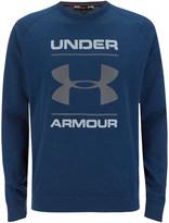 Under Armour Men's Tri-Blend Chest Graphic Crew Sweatshirt