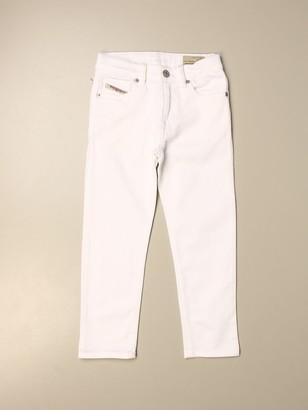 Diesel 5-pocket Cotton Trousers
