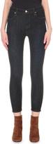 J Brand Alana cropped skinny high-rise jeans