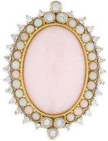 Jude Frances 18K Diamond & Opal Enhancer Pendant