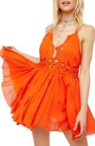 Free People Women's Ilektra Lace Minidress