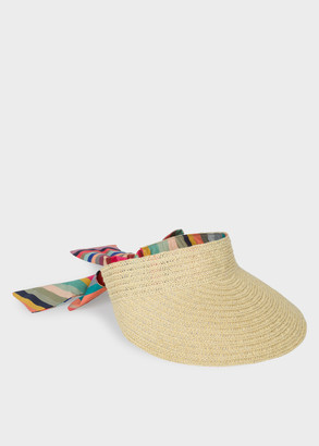 Paul Smith Women's 'Swirl' Woven Visor